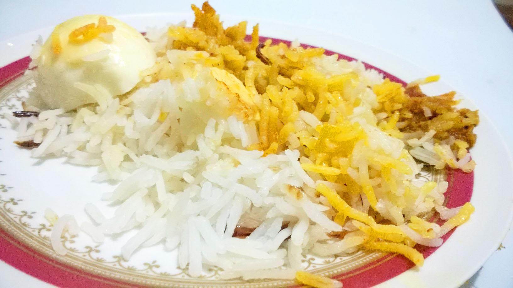 how to make egg biryani