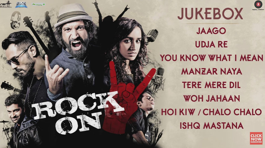 rock on 2 music review 2016 new bollywood songs