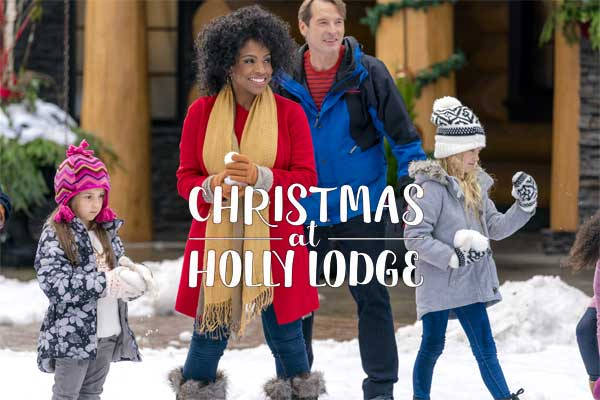 christmas at holly lodge cast