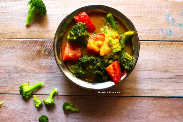 how to prepare broccoli indian style