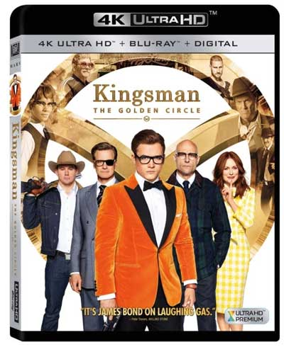 Kingsman - The Golden Circle - DVD Movie Releases 2017