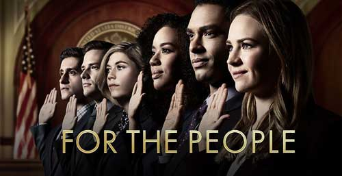 For the People TV Show Cast Plot Wiki