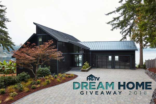 Dream Home Sweepstakes Entry